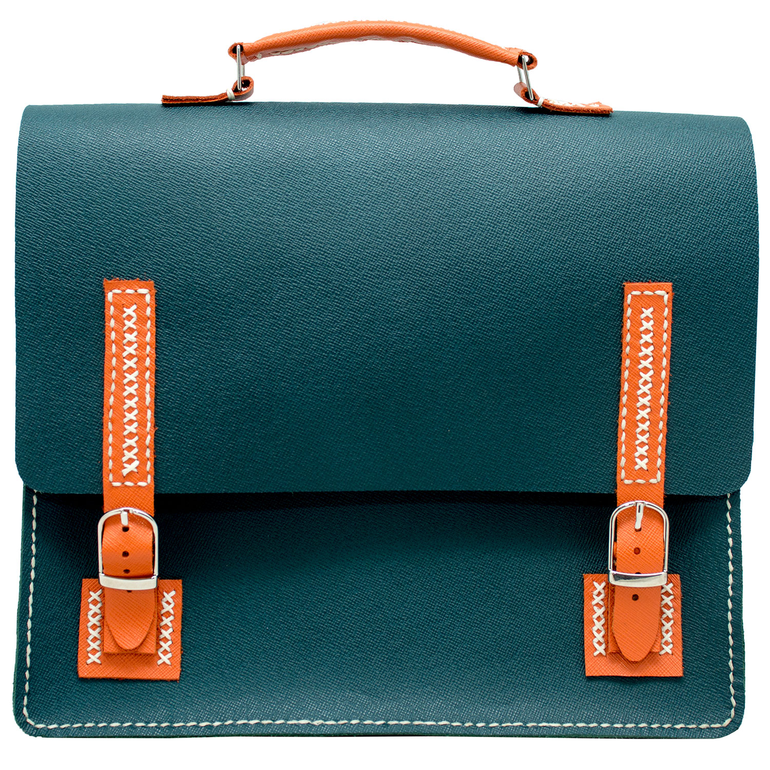 Woman-handmade-hand-stitched-etno-bag-shoulder-crossbody-satchel-briefcase-green[1]
